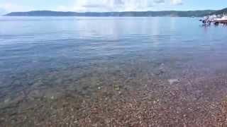 LakeBaikal透明度が世界一の湖「バイカル湖」