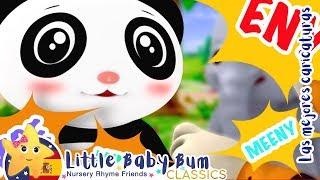Eeny Meeny Miny Moe | Canciones y Juegos Para Niños | Little Baby Bum