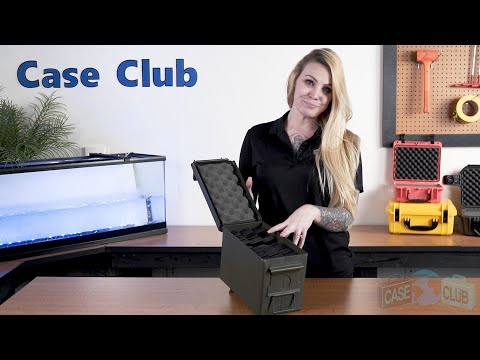 24 Magazine 50 Cal Ammo Can Foam - Featured Youtube Video