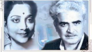 Geeta Dutt , Chitalkar : Pehan chunariya kaali : Film - Roshni