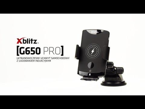 Xblitz G650 tālruņa turētājs ar bezvadu uzlādes funkciju cena un informācija | Auto turētāji | 220.lv
