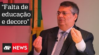 Governador Flávio Dino ameaça processar Bolsonaro por declarações no Maranhão