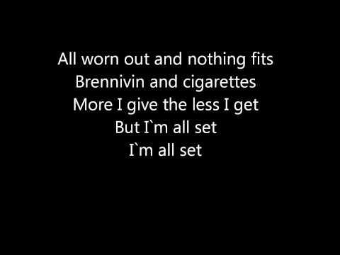 Foo fighters skin and bones lyrics