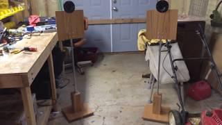Dayton Sound Exciter Home Speaker Build