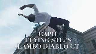 CAPO   Lambo Diablo GT Ft. Nimo X FLYING STEPS Lil Amok, Petair, Anna, Wilfried In Berlin | YAKFILMS