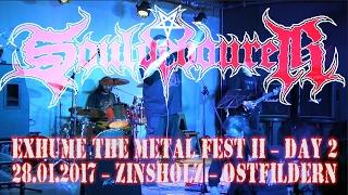 Souldevourer  - LIVE @ Exhume The Metal 2 - Day 2 - Zinsholz Ostfildern - 28.01.2017 - Dani Zed