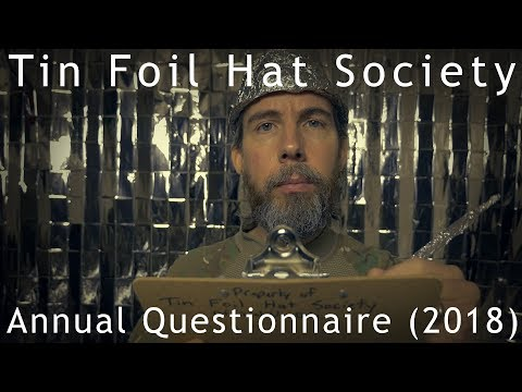 Tin Foil Hat Society Annual Questionnaire (2018) ASMR