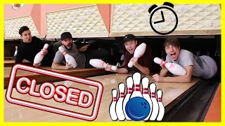 Exploring a CLOSED Bowling Alley (afterhours!)