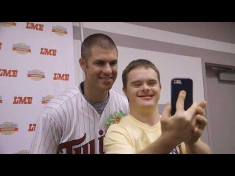Enjoy this video featuring longtime HFC supporter Joe Mauer at Lanes for Friendship 2016!