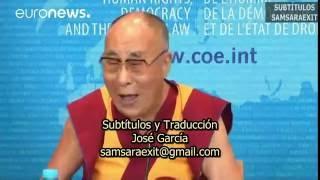 "Dalai Lama ""Me gustan las sonrisas"""