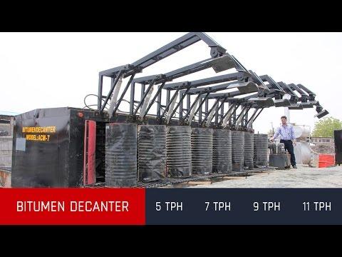 Drummed Bitumen Decanting Unit