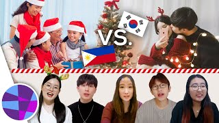 CHRISTMAS IN KOREA VS. PHILIPPINES 🇰🇷🎄🇵🇭   EL's Planet