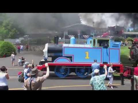 Thomas The Tank Engine at Tweetsie Railroad 2016