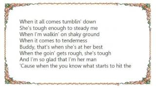 Chris LeDoux - She's Tough Lyrics
