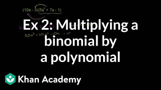 More multiplying polynomials