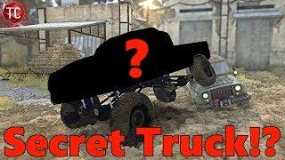 SpinTires MudRunner: NEW, SECRET TRUCK! CCS Is Back?!