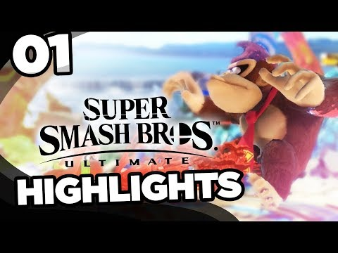 Smash Ultimate Highlights #1 - (Winners Bracket) Subscriber Tournament!