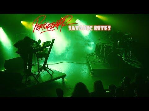"""PERTURBATOR """"Satanic Rites"""" live in Athens (4K)"""