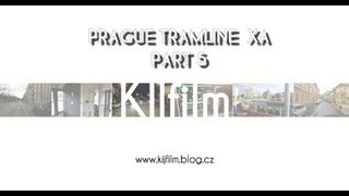 preview picture of video 'PRAGUE, tram line XA in driver cab. video 5'