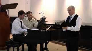 Die schöne Müllerin (Franz Schubert): Tony Boutté, tenor and Geoffrey Loff, piano