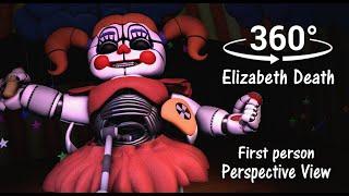 360°| Elizabeth Murdered Scene First Person Prospect - FNAF Sister Location [SFM] (VR Compatible)