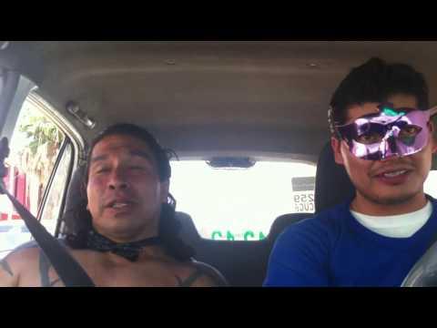 El Antifaz & El Tun Tun - CELEBRIDADES EN TAXI DE TORREON #elreydelcalzonchino