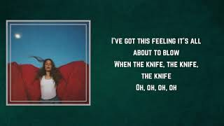 Maggie Rogers   The Knife (Lyrics)