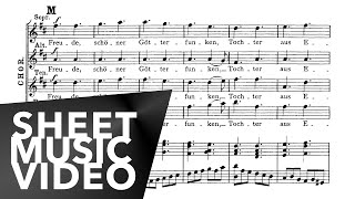 Beethoven 9th Symphony Choral 'Ode to Joy' 4th Movement