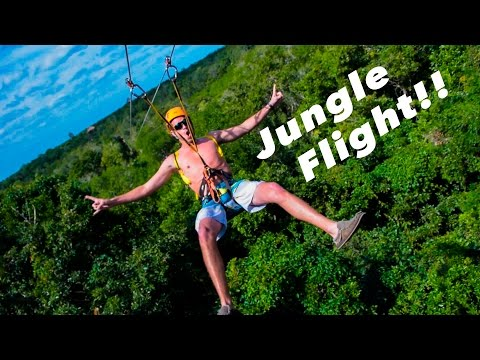 Fun in Mexico @ Jungle Maya Adventure Park
