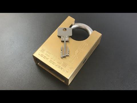 [653] Prototype Dual Fork Bowley Padlock (Model 543)