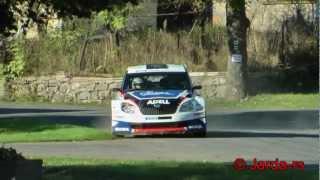preview picture of video 'Rally Příbram 2012 -  Smolotelské krizovky a Dublovické skoky - (HD) Pure Sound'