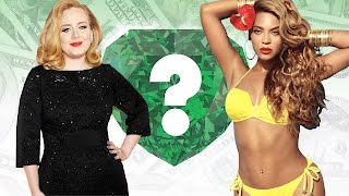 WHO'S RICHER? - Adele or Beyonce? - Net Worth Revealed!