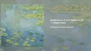 Symphony no. 41 in C major 'Jupiter', K. 551