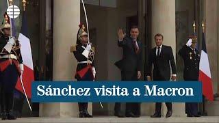 Pedro Sánchez se reúne con Macron en París