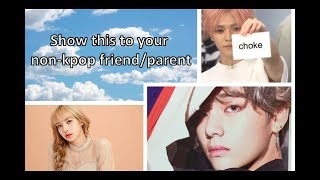 An intro to kpop/show this to your non kpop friend or parent