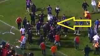 Escándalo en Tucumán: trompadas, patadas y gritos tras el agónico empate de San Martín