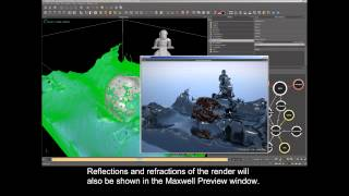 RealFlow 2013 : What's New - Maxwell Render Previews