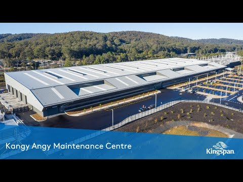 Kangy Angy Maintenance Centre | Kingspan Insulated Panels Australia