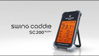 Swing Caddie SC200 Plus Portable Launch Monitor-video