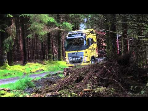 FH16 Volvo in forestry