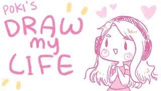 Gambar cover DRAW MY LIFE ❤ ft. Lilypichu ❤ | Pokimane