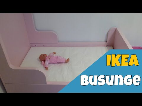 Review : Ikea Busunge Bed With Installation