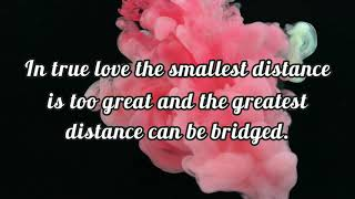 Beautiful Long Distance Relationship Quotes Of All Time 💞