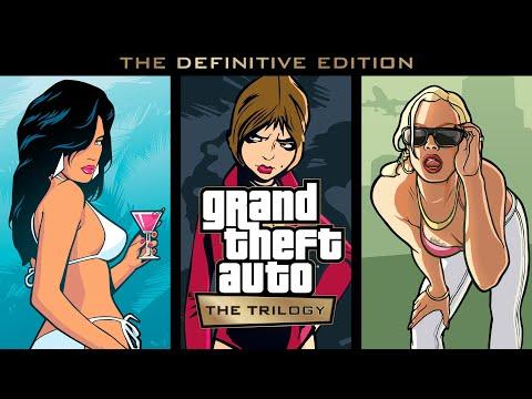 Grand Theft Auto: The Trilogy – The Definitive Edition : Trailer de comparaison