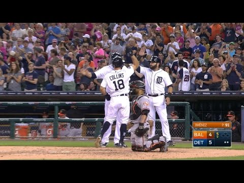 5/17/17: Collins slugs the Tigers to a 5-4 victory