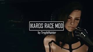 IKAROS Androids Race Trailer 4K - CP2077 Tribute
