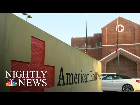 American Red Cross Fails To Pay Funds Promised To Many Hurricane Harvey Victims   NBC Nightly News