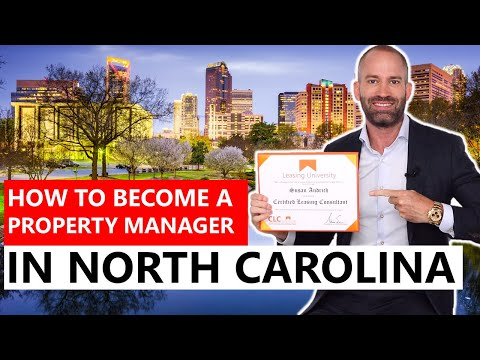 How to Become a Property Manager in North Carolina - YouTube