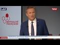 Nicolas Dupont-Aignan  présente son projet pour la santé