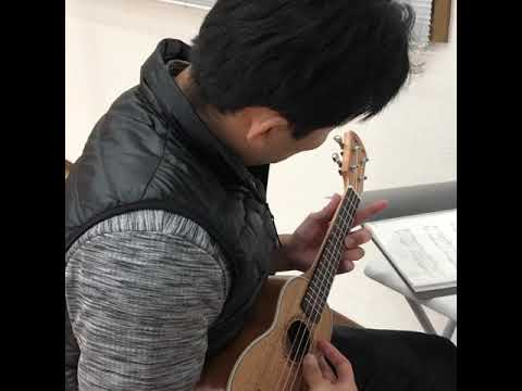 未経験者の方にウクレレ教えます 多くの人が知っている簡単な曲を弾く練習をしましょう。 イメージ1